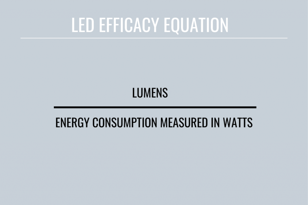 led efficacy equation