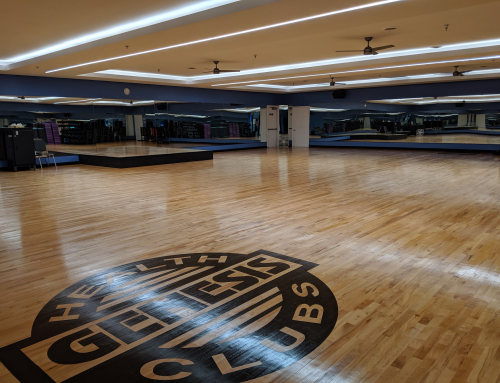 LED Featured Project: Genesis Health Clubs